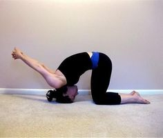 Yoga position that will help with headaches