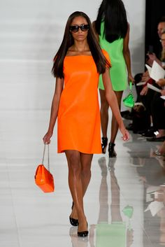 The Ultimate Guide to Spring's Biggest Color Trends: With Spring comes a whole new color story for our closets, thanks in large part to the primary hues that dominated the Spring '14 collections, making this season bolder and brighter on just about every level.