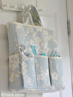 Craft Storage Bag sewing tutorial 19