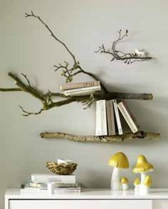 Transform Branches into Shelves