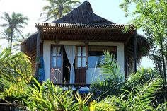 Stunning rustic chic eco guesthouse / bed and breakfast in  hills above Moreré beach on Boipeba island. Breathtaking ocean views & great hospitality