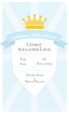 Learn more about the meaning behind the name of Prince William and Kate Middleton's royal baby!