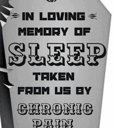 RIP Sleep