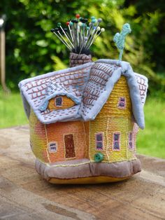 my up house pin cushion