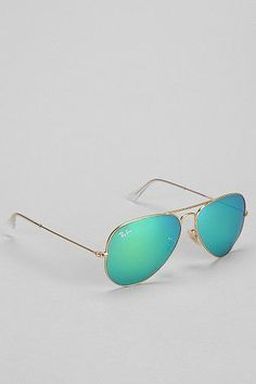 Ray-ban Original Aviator Sunglasses - Green - One Size