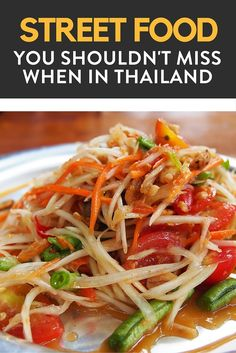 Want to try the street food while in Thailand? Here is your guide on what to eat and what you shouldn't miss while in Thailand