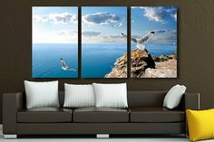 Canvas painting Horizon Wall Art decor Poster