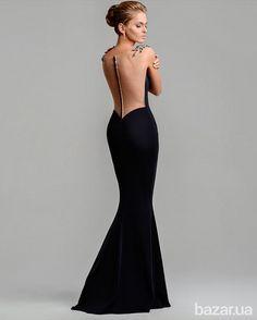 """Продам вечернее платье известной украинской фирмы """"Доминис"""", одето всего один раз, в отличном состоянии."""