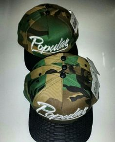 These #PopularDemand Camo Snapbacks are a definite must have in your closet. Shop now www.houseoftreli.com