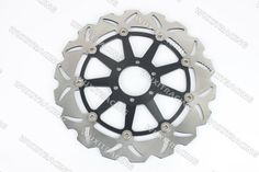 93.89$  Know more - http://aigmq.worlditems.win/all/product.php?id=32233722571 - Front Brake Disc Rotor Brake Discs For BIMOTA BB1 SUPERMONO 650 1996 97 98 99 2000 BLACK