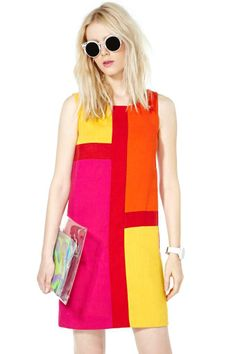 Mod Squad Mini Shift Dress