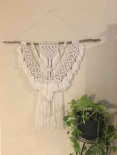 A personal favorite from my Etsy shop https://www.etsy.com/listing/578722060/macrame-large