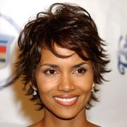 "Anti-Aging Haircuts. Choppy Layers: What To Ask For  Ask your stylist to cut short, shaggy layers throughout your hair. ""This look is heavily layered and all about having lots of defined, angled pieces,"" says Gillin, so specify that you want the layers to be chunky and square. The length of the style should hit around the middle of your neck."