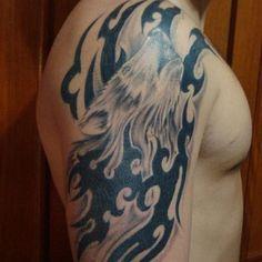 01 Alpha Wolf Tattoo