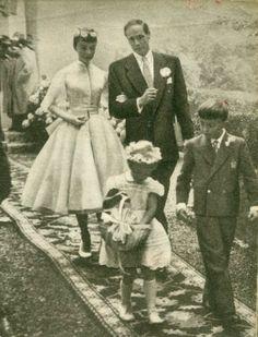 Foto de Casamento - Andrey Helpburn e Mell Ferrer