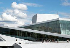 RMIG: Embossed, intended and perforated Cladding, New Opera House Oslo