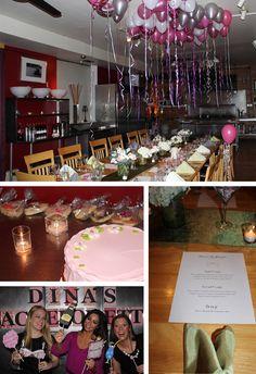 bachlorette party- balloon colors cute room idea!