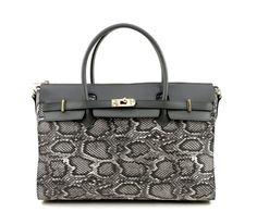 Hermit vegan power handbag