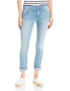Women's Liv Low Rise Relaxed Skinny In Sea Glass