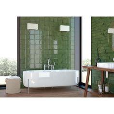 Grüne Wandfliesen | Glam Olivgrün | Gratis Muster
