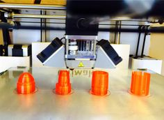 Rocket made in @MorphiApp, 3Dprinted on @ultimaker w/@ColorFabb PLA. #3dprinting #makered #STEAM #design #app #iPad