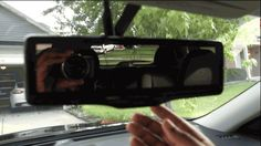 So what is it like to drive with  Smart rearview mirror?