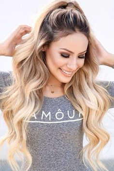 Bright Blonde Hairstyles For more ideas, click the picture or visit www.sofeminine.co.uk