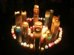 beautiful candles by Candle June