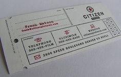 Diseños de tarjetas de presentación creativas - Frogx.Three
