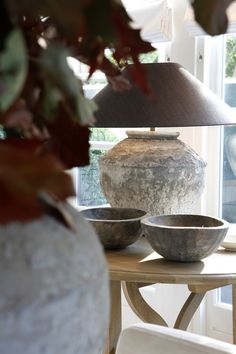 rustic stone and wood details Wabi Sabi, Belgian Style, Rustic Stone, Wood Lamps, Ceiling Beams, Rustic Design, Beautiful Interiors, Light Shades, Home Lighting