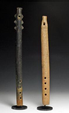 Pre-Columbian Colima Flutes (2)