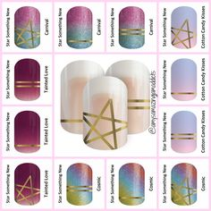 Jamberry's July 2017 Sisters' Style allows you to Star Something New!  This clear wrap with a metallic overlay can be worn alone, or layered over your favorite wraps, lacquers, or gel enamels.  These wraps will be available for the month of July ONLY, so stock up now!  Follow me on Facebook for more great ideas:  https://www.facebook.com/amysamazingjamaddicts/