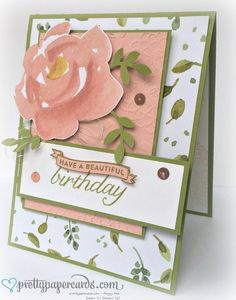 Birthday Blossoms stamp set Stampin' Up!