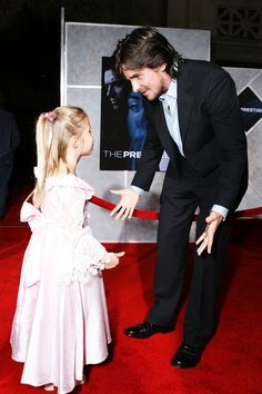 Christian Bale with your baby