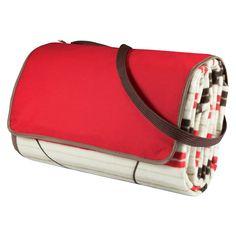 Picnic Time Outdoor Blanket Tote XL - Moka Collection