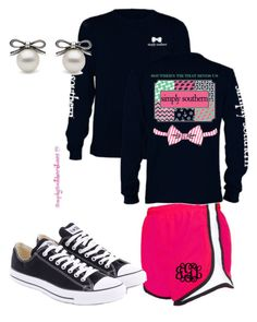 """""""Simply southern"""" by djlk-1 ❤ liked on Polyvore featuring Converse"""
