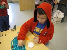 Kindergarten Classroom at the Early Learning Community - Blog - Making and Exploring Gak