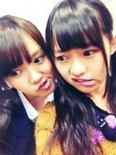 乃木坂46 (nogizaka46) cutie two ito marika and nakamoto himeka ^_^ ♥ ♥ ♥ ♥ ♥ ♥