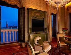 The plush suites at Hotel Danieli, Venice, Italy. http://www.kiwicollection.com/hotel-detail/hotel-danieli