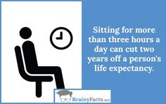 Health Facts : Sitting | did you know