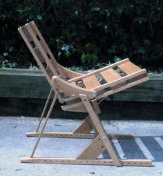 DIY Crutch chair