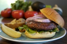 Mouthwatering 8oz Steak Burgers from Chicago Steak Company. Anytime is a good time for #grilling #burgers