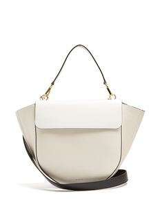 Click here to buy Wandler Hortensia trapeze leather shoulder bag at MATCHESFASHION.COM