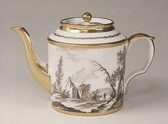 Teapot (part of a tea set) ca. 1805 French (Paris)
