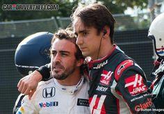 - Fernando Alonso y Esteban Gutiérrez