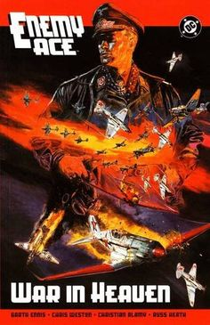 Bestselling Comics - Enemy Ace: War in Heaven by Garth Ennis War Comics, Fighter Pilot, Fantasy Characters, World War Ii, Cover, Heaven, Marvel, Books, Movie Posters