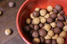Homemade Reese's Puffs from milkandcerealblog.wordpress.com - hey I know this girl!