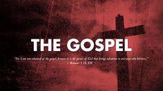 I am not ashamed of the Gospel.