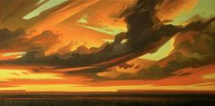 """Vastenss of Clouds"" by Ed Mell"