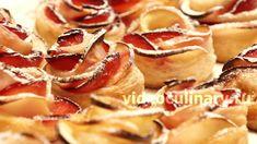 Из слоёного теста и яблок можно приготовить много вкусной и красивой выпечки. Бабушка Эмма предлагает Видео и Фото рецепт Розочек с яблоками из слоеного теста